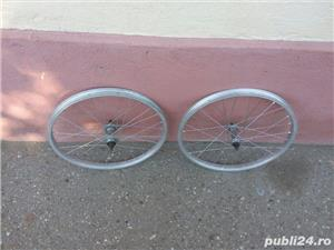 Doua roti 20 inch (fata+spate) Alloy italia pentru bicicleta pliabila - imagine 5