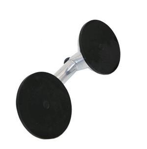Ventuza profesionala dubla metalica pentru geam termopan sau antena satelit - imagine 3