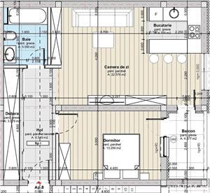 Apartament 2 camere, 56mp, Apahida - imagine 1
