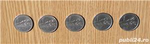 Vand lot 5 monede 1 leu 1966 - imagine 1