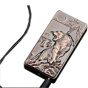 Bricheta ZIBOM electronica/electrica,SENZOR aprindere,DUBLU ARC,Fara Gaz ,incarcare USB - imagine 3