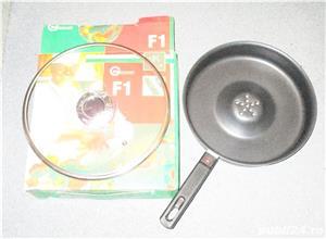 Tigaie Dry Coocker teflon capac transparent Pret 45 lei  2 buc 85 lei   - imagine 2