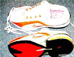 Adidasi Nike panza alb cu argintiu nr 38, 39  - imagine 8