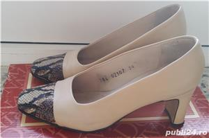 Pantofi din piele ( interior/exterior) - imagine 1