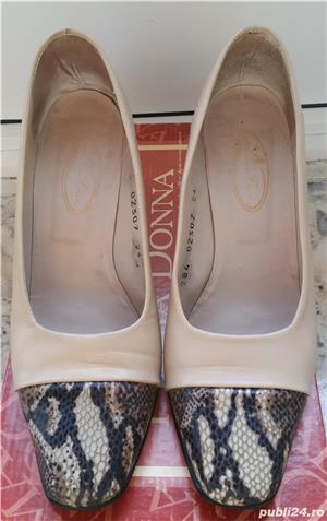 Pantofi din piele ( interior/exterior) - imagine 2