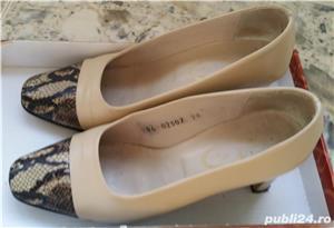Pantofi din piele ( interior/exterior) - imagine 4