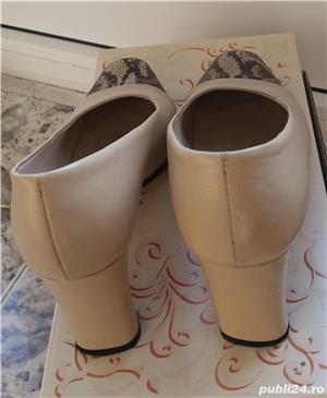 Pantofi din piele ( interior/exterior) - imagine 7