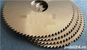 Freze disc metal noi noutze Ø 100 si Ø 120 - STAS 1159, DIN 1837 - imagine 3