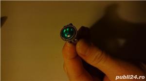 Inel argint cu patina timpului - imagine 4