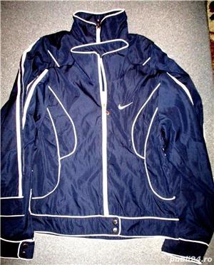 Bluze trening Nike gri bleumarin material bumbac, 2 buzunare, lungime 70 cm, latime 60 cm.  - imagine 4