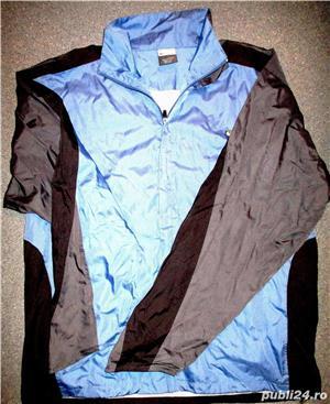Bluze trening Nike gri bleumarin material bumbac, 2 buzunare, lungime 70 cm, latime 60 cm.  - imagine 8
