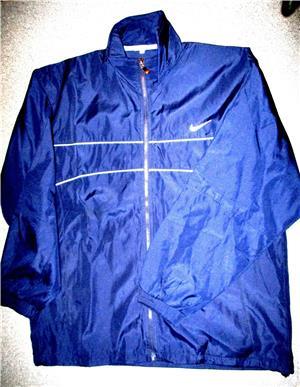 Bluze trening Nike gri bleumarin material bumbac, 2 buzunare, lungime 70 cm, latime 60 cm.  - imagine 6
