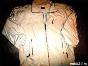 Bluze trening Nike gri bleumarin material bumbac, 2 buzunare, lungime 70 cm, latime 60 cm.  - imagine 7