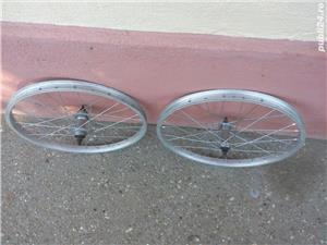Doua roti 20 inch (fata+spate) Alloy italia pentru bicicleta pliabila - imagine 2