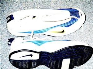 Adidasi Nike panza alb cu argintiu nr 38, 39  - imagine 9