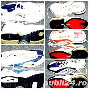 Adidasi Nike panza alb cu argintiu nr 38, 39  - imagine 4