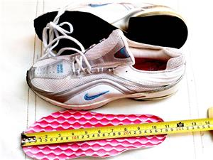 Adidasi Nike panza alb cu argintiu nr 38, 39  - imagine 7