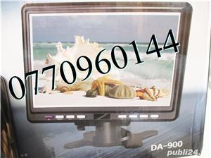 Televizor auto 12V  220V 18 cm Color, slot de card  si USB, priza 220V si 12V - imagine 10