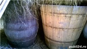 Vand butoaie de lemn si hambar cereale - imagine 3
