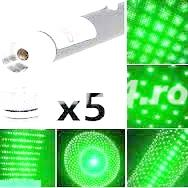 Laser disco bar verde 5 capete, lumina verde prezentare video   Pret 35 lei  2 buc 6 - imagine 3
