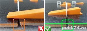 Kit GO sistem nivelare gresie si faianta 1 mm - 149 lei - imagine 4