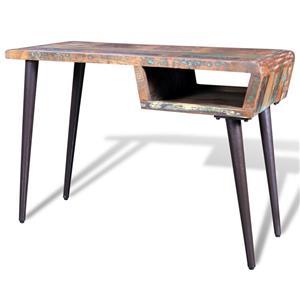 Birou din lemn reciclat cu picioare de fier 241138 - imagine 2