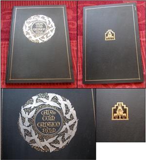Cantarea Cantarilor (1930), carte religioasa - GoldArt 2009 - imagine 4