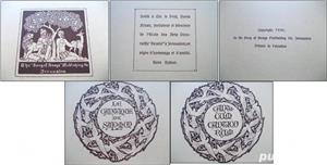 Cantarea Cantarilor (1930), carte religioasa - GoldArt 2009 - imagine 8