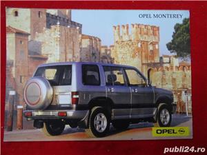 """Carti Postale cu seria auto """"OPEL""""-1992  - imagine 4"""