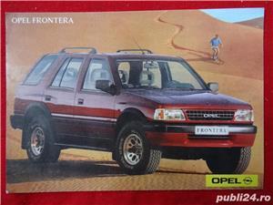 """Carti Postale cu seria auto """"OPEL""""-1992  - imagine 5"""