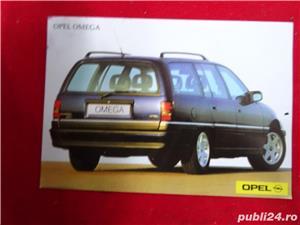 """Carti Postale cu seria auto """"OPEL""""-1992  - imagine 2"""