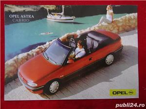 """Carti Postale cu seria auto """"OPEL""""-1992  - imagine 9"""