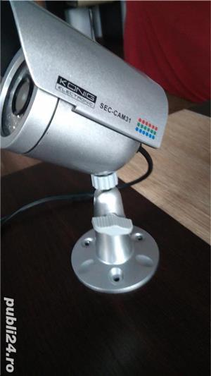 Camera supraveghere Konig, 1.3 inch , LED Nou - imagine 3