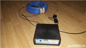 Rezistenta (cablu) incalzire rasadnita + Hibrid Termostat electronic digital 230V30A-SR - imagine 8