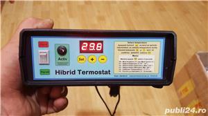 Rezistenta (cablu) incalzire rasadnita + Hibrid Termostat electronic digital 230V30A-SR - imagine 4
