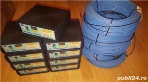 Rezistenta (cablu) incalzire rasadnita + Hibrid Termostat electronic digital 230V30A-SR - imagine 1
