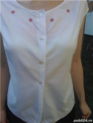 Bluza cu motive populare bumbac! - imagine 1