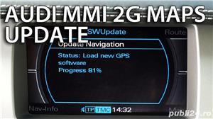 DVD Navigatie AUDI MMI 2G Romania / Europa 2018 - imagine 2