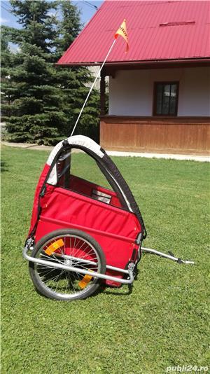 Rulota agrement pentru biciclete - imagine 4