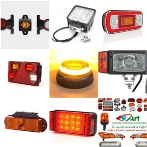 Lampi gabarit,Girofare,Stroboscoape,Rampe Led ,Lumini camio - imagine 3