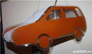 Lampa tip masinuta pentru camera copii - imagine 6