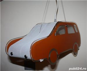 Lampa tip masinuta pentru camera copii - imagine 2