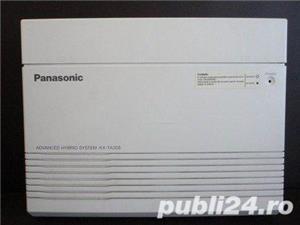 PANASONIC - CENTRALA TELEFONICA KX TA 308 CU TELEFON SECRETARIAT - imagine 1