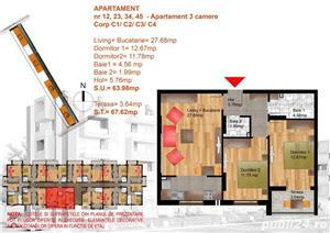 Apartament 3 camere decomandat, Metrou Berceni,Leonida - imagine 4