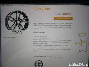 Jante 18' aliaj Opel Fox Fxc III HD  - imagine 4