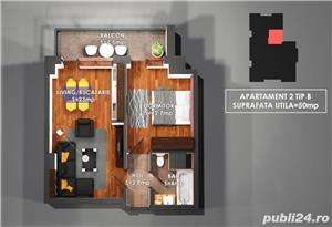 Apartament Nou 2 camre, COPOU , COmision 0% - imagine 8