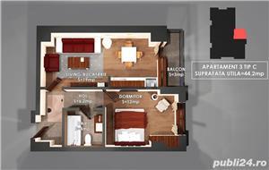 Apartament Nou 2 camre, COPOU , COmision 0% - imagine 6