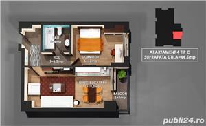Apartament Nou 2 camre, COPOU , COmision 0% - imagine 7