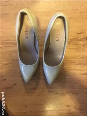 Pantofi stliletto nude - imagine 4
