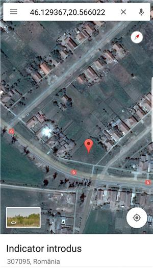 Proprietar Vand / Schimb / inchiriez Teren 1460 mp cu Nr. de Casa  in Cenad pe soseaua principala ! - imagine 2